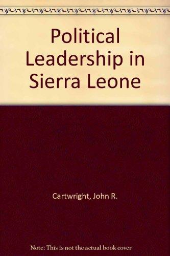 9780856646256: Political Leadership in Sierra Leone