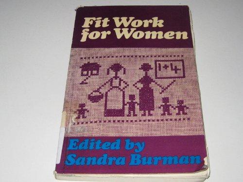 Fit Work for Women: Burman, Sandra