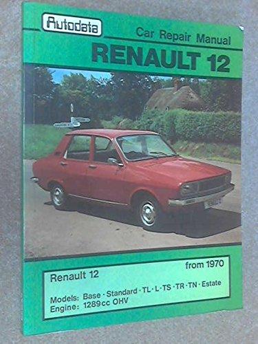 9780856660399: Car Repair Manual: Renault 12