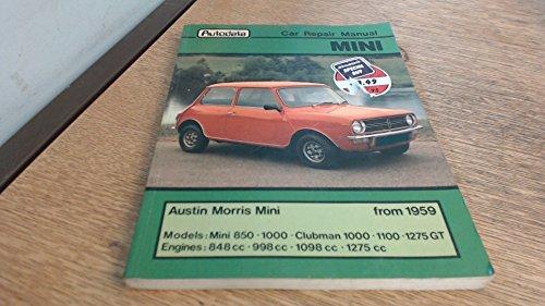 9780856660528: Intereurope Repair Manual 250 - Mini 850,1000, Clubman 1000, 1275 GT