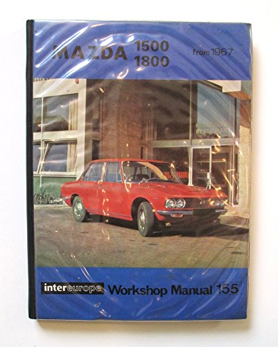 9780856660801: Mazda 1500/1800 Series Workshop Manual