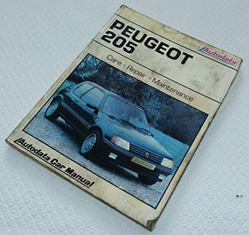 9780856665240: Peugeot 205 1983-90 (Autodata car manual)