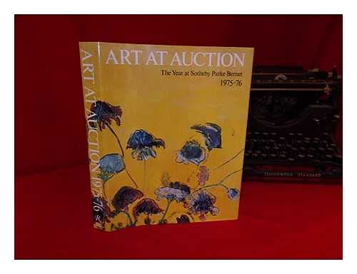 9780856670305: Art at Auction: The Year at Sotheby Parke Bernet 1975-76