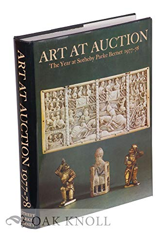 9780856670497: Art at Auction: The Year at Sotheby Parke Bernet 1977-78 (244th Season)