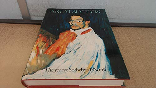 9780856671388: Art As Auction: The Year at Sotheby'S, 1980-81. Ed by Joan A. Speers. Issn 0084-6783