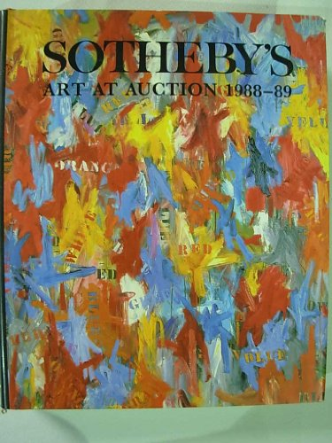 9780856673658: Sotheby's Art at Auction 1988-89