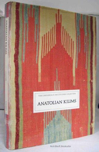 9780856673900: Anatolian Kilims: The Caroline and H. McCoy Jones Collection