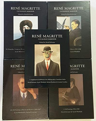 Rene Magritte - Catalogue Raisonne: Vol 1 Oil Paintings 1916-1930: Rene Magritte