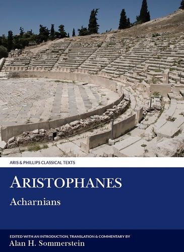 9780856681721: Aristophanes: Acharnians (Classical Texts)