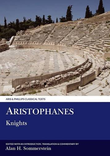 9780856681776: Aristophanes: Knights (Aris and Phillips Classical Texts)