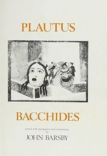 9780856682278: Plautus: Bacchides (Aris and Phillips Classical Texts)
