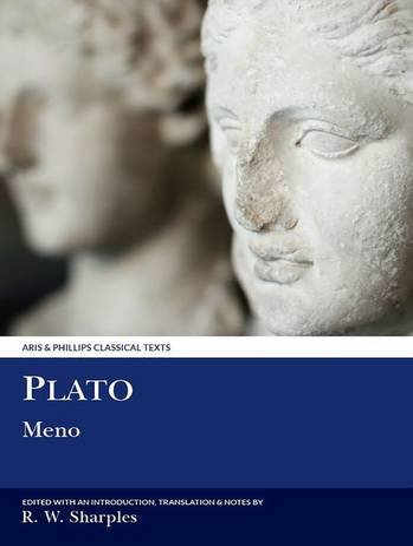 9780856682490: Plato: Meno (Aris and Phillips Classical Texts)