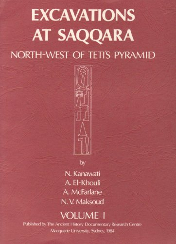 9780856682827: 001: Excavations at Saqqara I