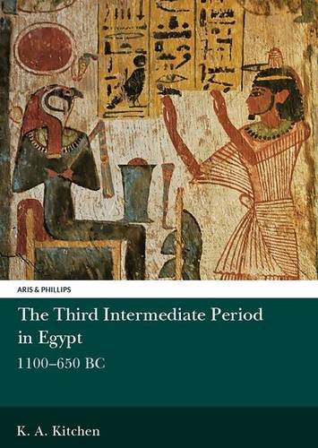 9780856682988: The Third Intermediate Period in Egypt, 1100-650 B.C. (Egyptology)