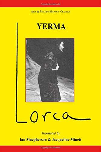 9780856683381: Yerma (Hispanic Classics)