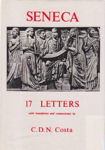 9780856683541: Seneca: Letters, a selection (Classical Texts)