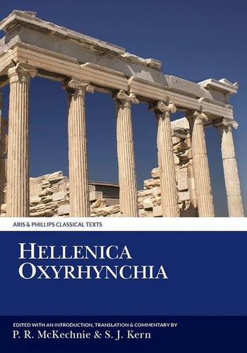 9780856683589: Hellenica Oxyrhynchia (Aris and Phillips Classical Texts)
