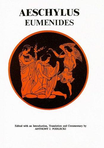 9780856683817: Aeschylus: Eumenides (Aris & Phillips Classical Texts) (Ancient Greek Edition)