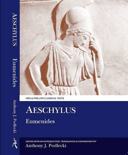 9780856683824: Aeschylus: Eumenides (Aris and Phillips Classical Texts)