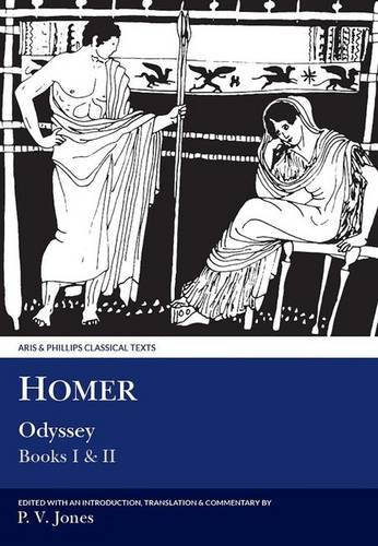 9780856684692: Homer: Odyssey: Books I and II (Aris and Phillips Classical Texts) (Bks. 1 & 2)