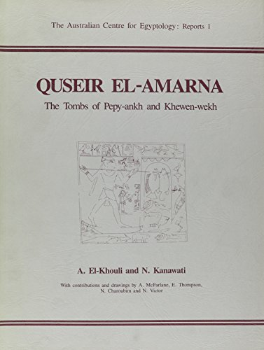 9780856685088: Quseir El-Amarna (Australian Centre for Egyptology Reports)