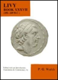9780856685743: Livy: Book XXXVII: Bk. 37 (Aris & Phillips Classical Texts)