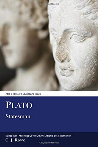 9780856686139: Plato: Statesman (Aris and Phillips Classical Texts)