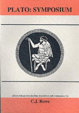 9780856686153: Symposium (Classical Texts) (Aris & Phillips Classical Texts)
