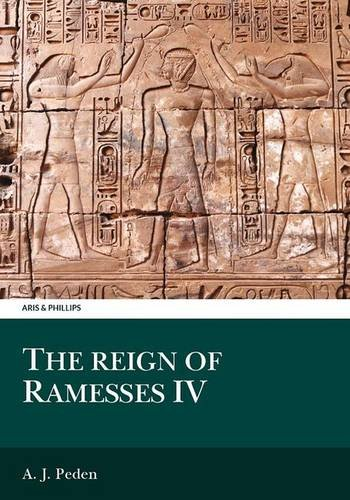 9780856686221: The Reign of Ramesses IV (Aris and Phillips Classical Texts)