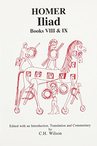9780856686283: Homer: Iliad VIII and IX (Aris and Phillips Classical Texts) (Bks. 8-9)
