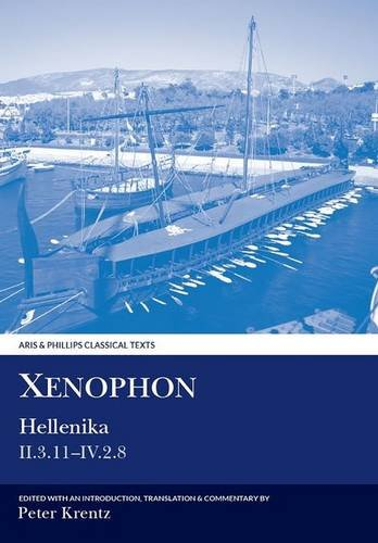 9780856686429: Xenophon: Hellenika II.3.11 - IV.2.8 (Aris and Phillips Classical Texts) (Bk.2)