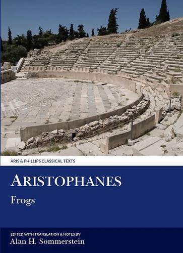 9780856686481: Aristophanes: Frogs (Aris & Phillips Classical Texts)