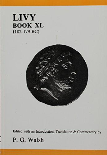 9780856686733: Livy, Book 40