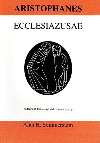 9780856687082: Aristophanes: Ecclesiazusae