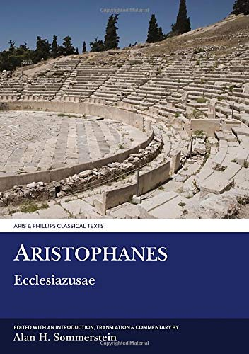 9780856687082: Aristophanes: Ecclesiazusae (Aris and Phillips Classical Texts)