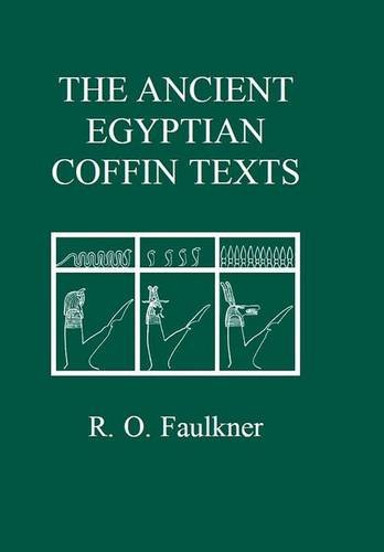 9780856687549: The Ancient Egyptian Coffin Texts (Aris and Phillips Classical Texts) (v. 1-3)