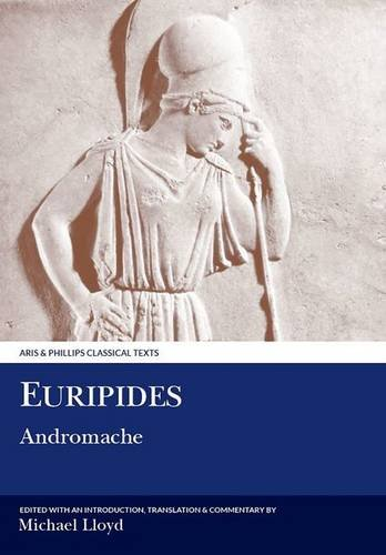 9780856687709: Euripides: Andromache (Aris and Phillips Classical Texts)