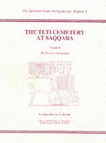 9780856688027: The Teti Cemetery at Saqqara 2: The Tomb of Ankhmahor (ACE Reports) (v. 2)