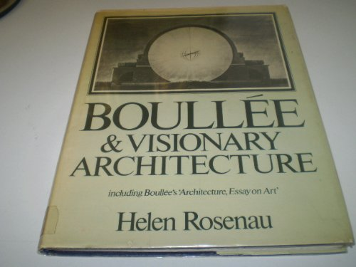 9780856701573: Boullee and Visionary Architecture