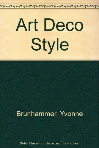 9780856706714: Art Deco Style