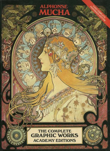 9780856706868: Alphonse Mucha, The Complete Graphic Works.