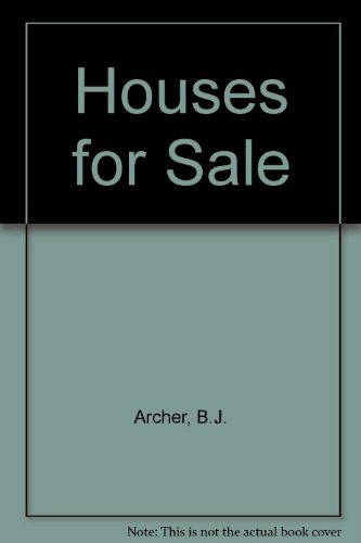 9780856707490: Houses for Sale