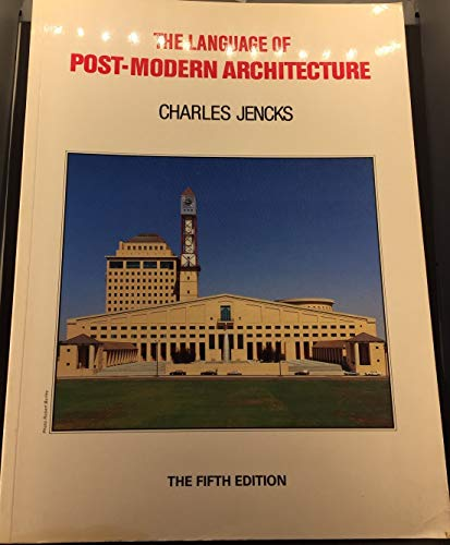 9780856709333 Language Of Postmodern Architecture Abebooks Jencks Charles 0856709336