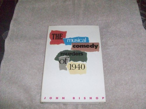 9780856761362: The Musical Comedy Murders of 1940