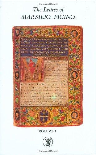 9780856830105: The Letters of Marsilio Ficino: Volume 1