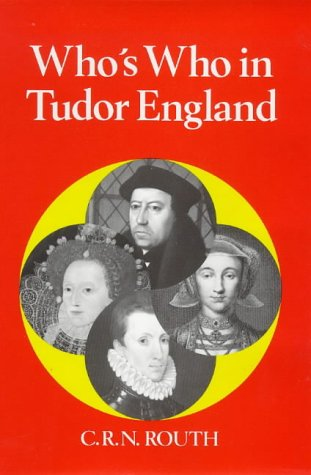 9780856831195: Who's Who in Tudor England (Who's Who in British History)