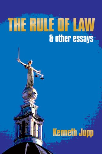 9780856832352: The Rule of Law: and Other Essays