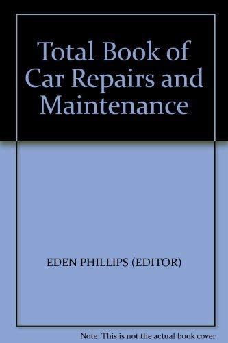9780856857638: Total Book of Car Repairs and Maintenance