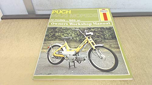 9780856961076: Puch Maxi Owner's Workshop Manual