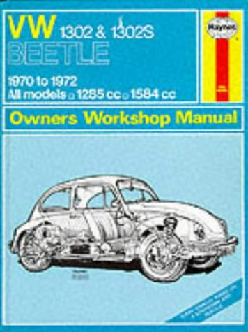 9780856961106: Volkswagen 1302S (Super Beetle) Owner's Workshop Manual (Service & repair manuals)
